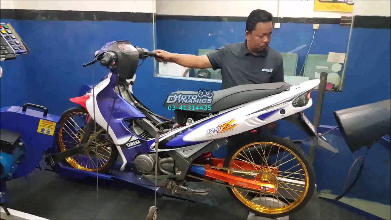 Yamaha 125zr 2t Drag Racing Bike Dyno Motodynamics Technology