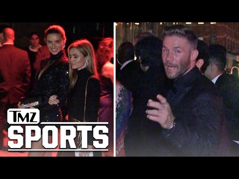 Julian Edelman & Adriana Lima Party Together After Met Gala | TMZ Sports