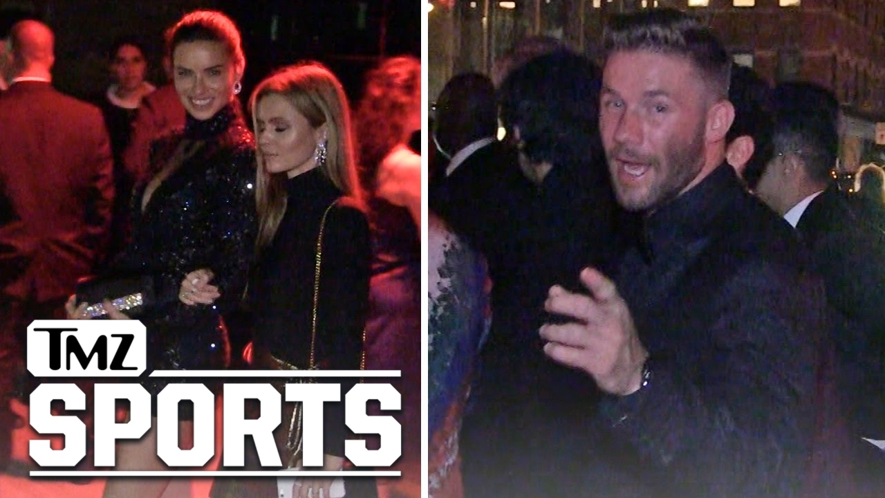 Julian Edelman Adriana Lima Party Together After Met Gala