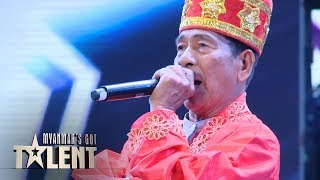 Bo Wal: Auditions | Myanmar's Got Talent 2019