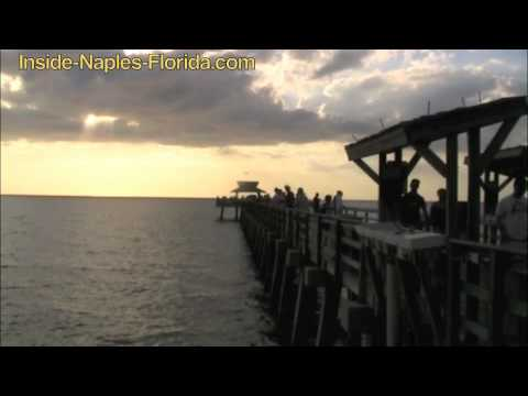 The Fishing Pier In Naples Florida
