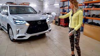 НЕРЕАЛЬНЫЙ НОВЫЙ Lexus LX за 500 тыс руб. Рестайлинг, как у Toyota Land Cruiser