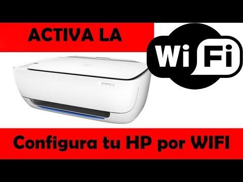 Como configurar la WIFI de HP deskjet 3639 🖨