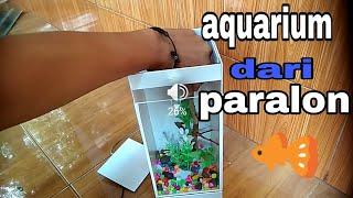 Gambar cover aquarium dari pipa PVC