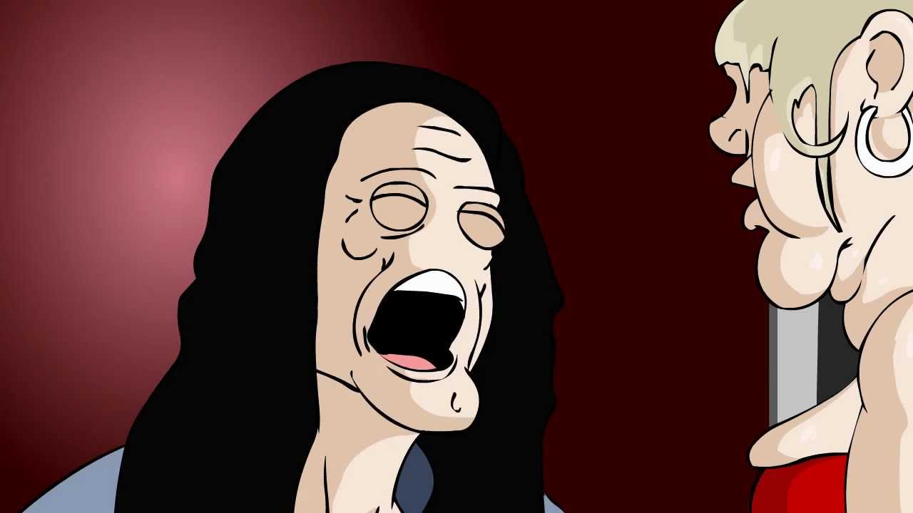 the room animated you re tearing me apart youtube