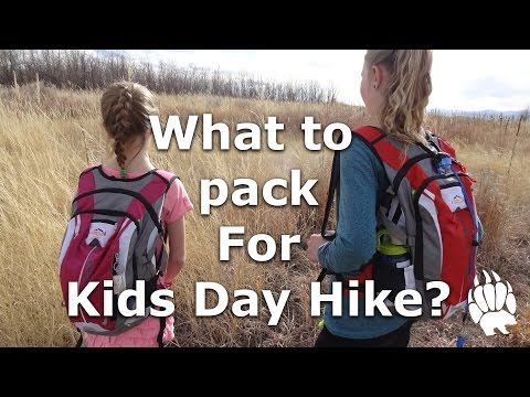 What to pack for Kids Day Hike? Day Pack Our Journey:: Episode #16