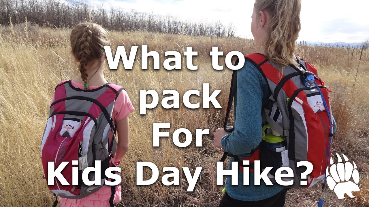 c6bf2f7f46d2 What to pack for Kids Day Hike? Day Pack - Our Journey :: Episode #16