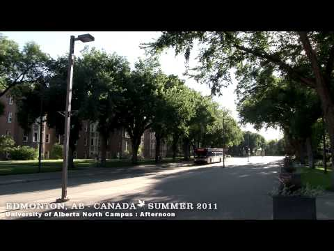EDMONTON , ALBERTA   CANADA   A WALKING TRAVEL TOUR   HD 1080P