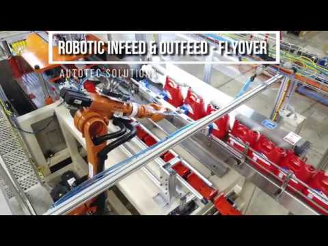 Robotic Infeed & Outfeed | Flyover |  Autotec Solutions