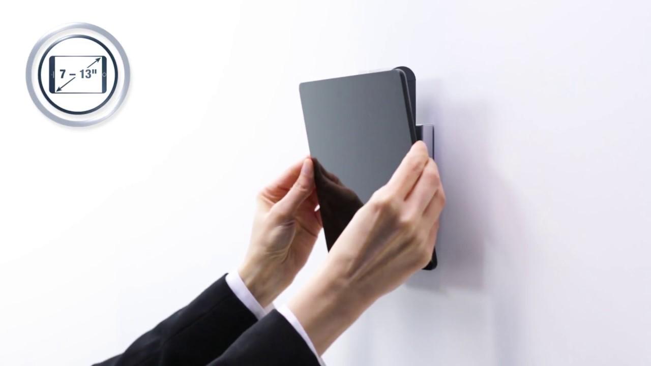Support Tablette Mural Compatible Avec Tablette 7 13 Et Antivol