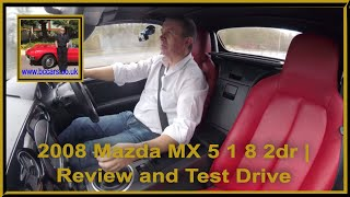 2008 Mazda MX 5 1 8 2dr | Review and Test Drive
