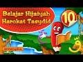 Belajar Hijaiyah Iqro Pel 10. Belajar Hijaiyah harokat tasydid