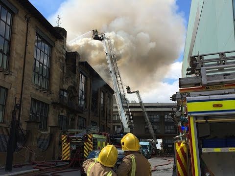Glasgow School of Art Fire, a Case Study by SFRS