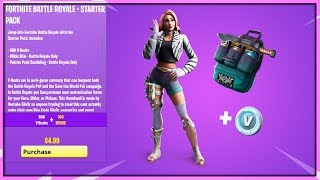 The *NEW* WILDE STARTER PACK REWARDS IN FORTNITE..