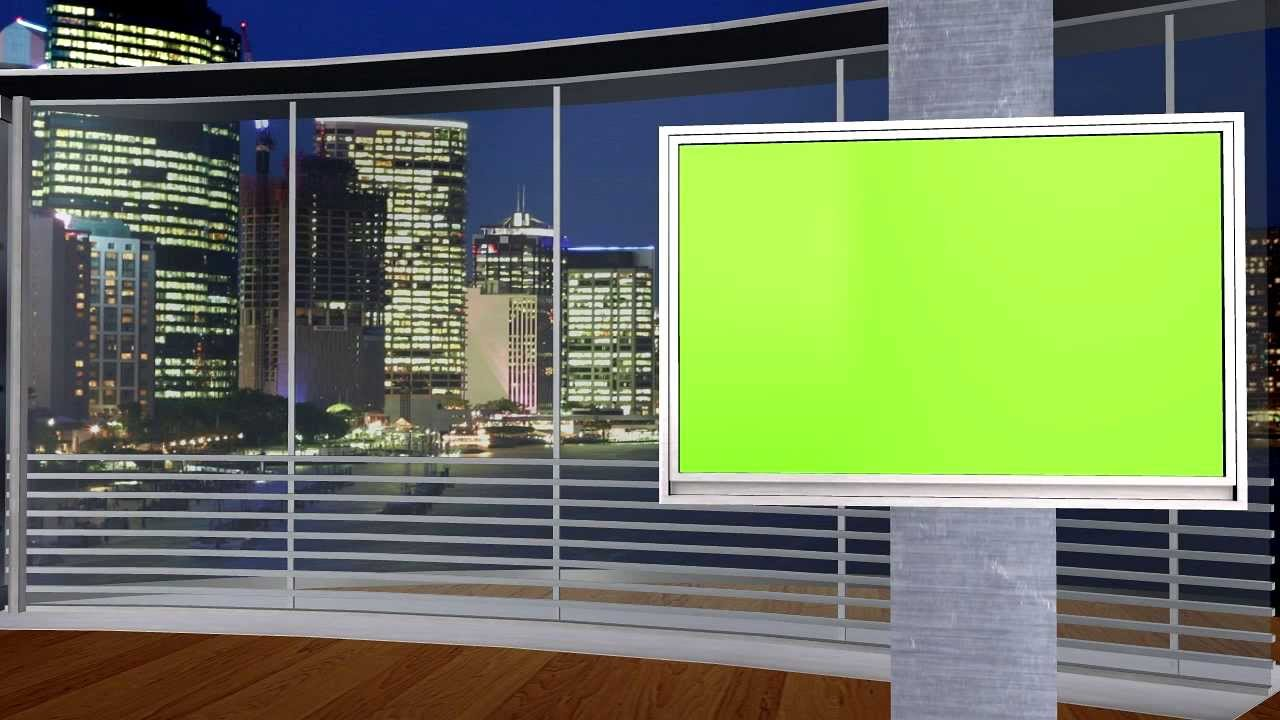 NEW FREE Green Screen studio set 3 different angles, awesome