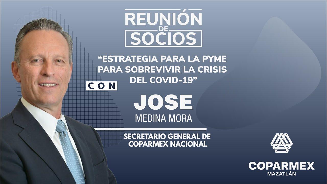 Reunión de Socios con Jose Medina Mora