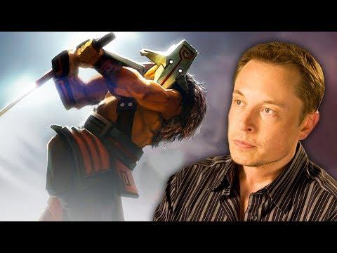 Elon Musk's AI Destroys the World's Best Dota 2 Players! (Muskwatch w/ Kyle Hill & Dan Casey)