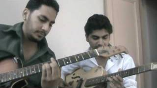 bin tere sanam on guitar