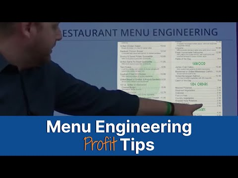 What Is Menu Engineering