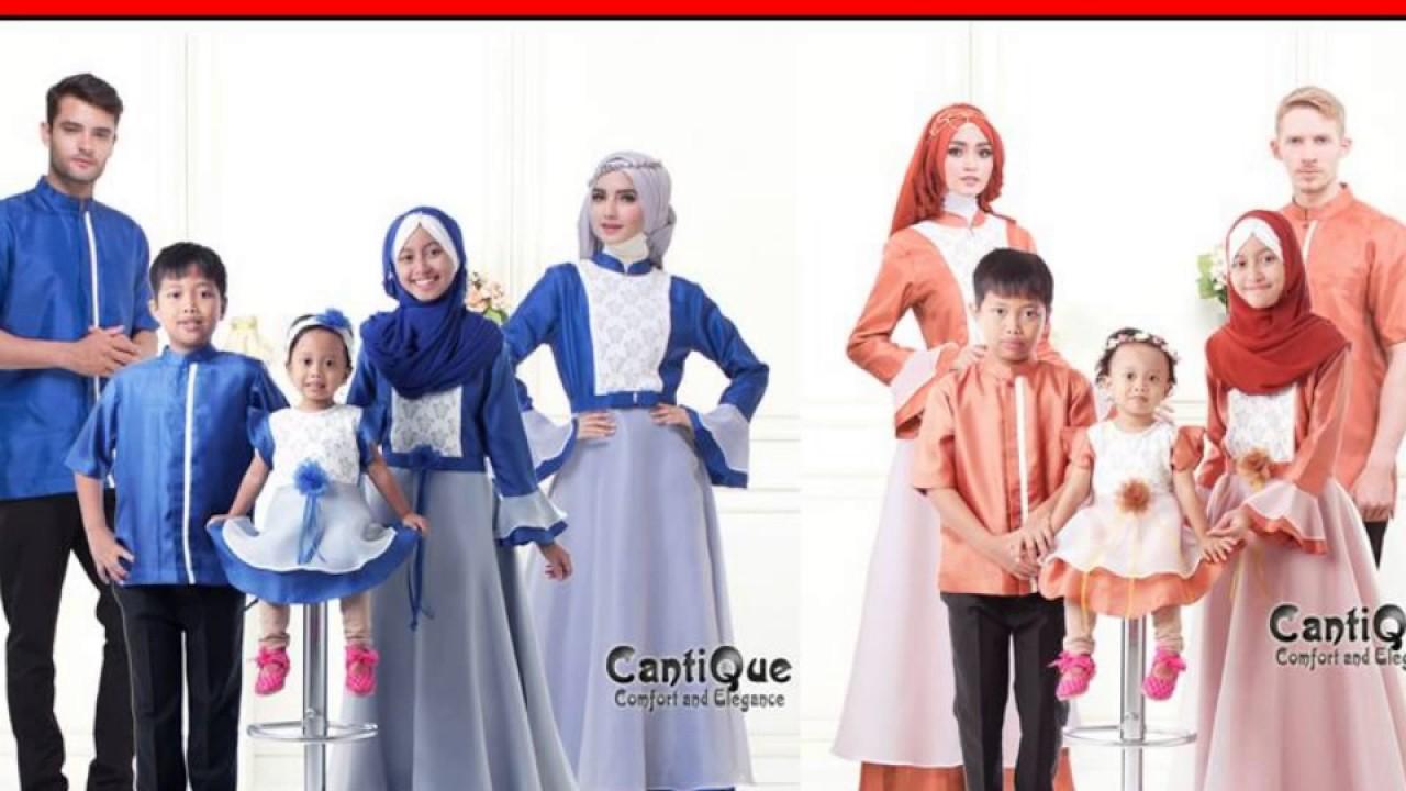Jual Baju Muslim Keluarga Lebaran Di Malang Youtube