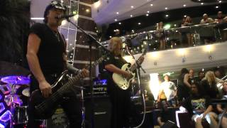 Frank Hannon Band- Love is Like A Fire - Monsters of Rock Cruise - 2015- World Peace album