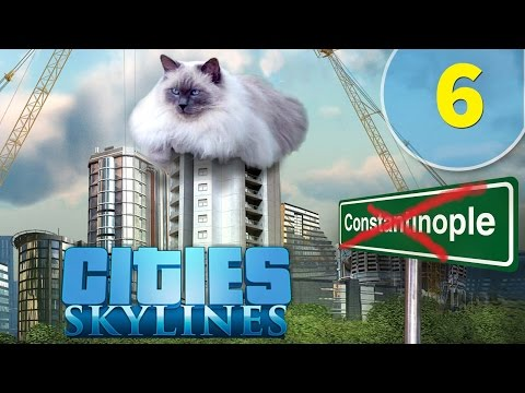 Cities Skylines [6] The Power  Of Policies!