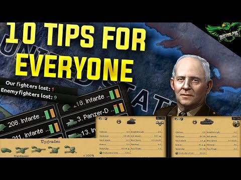 HOI4 10 Tips For Everyone (Hearts of Iron 4 Man the Guns Guide) |