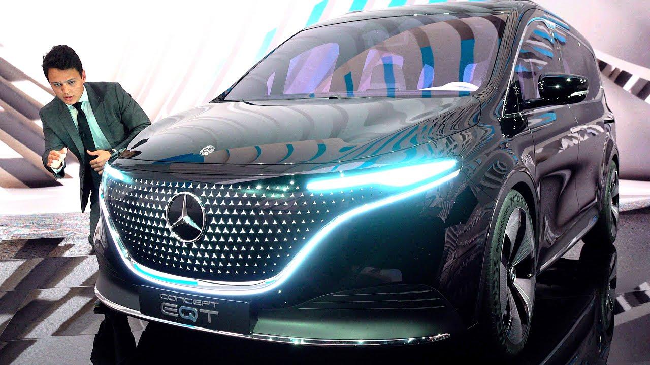 NEW Mercedes T Class | FULL Review EQT Concept V Class 7 Seats EXCLUSIVE Interior Exterior