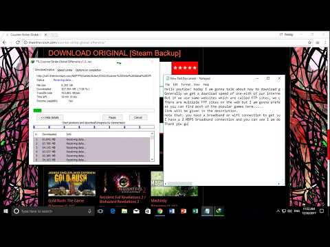How to download games superb fast!!!!! (100% Working) (Broadband / Wifi connection needed)