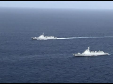 Chinese Navy Conducts Live-fire Confrontation Drill at Western Pacific