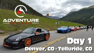 Adventure Drives AD.01 Day 1 - Denver to Telluride