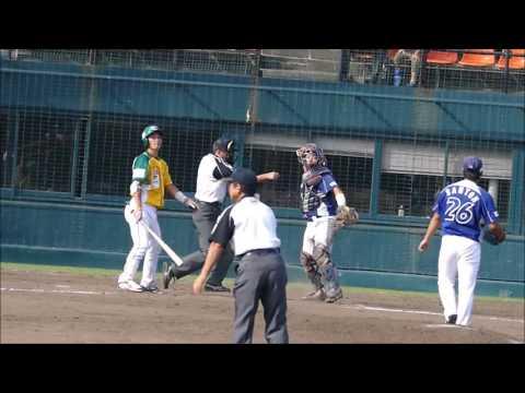 橋本隼→山藤桂の投手リレー2016/09/11