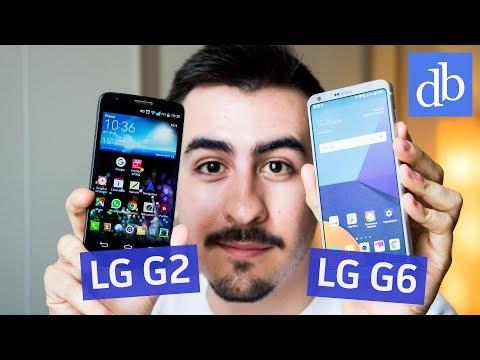 Da LG G2 a LG G6: generazioni a confronto | Il mio PRIMO SMARTPHONE Android! • Ridble