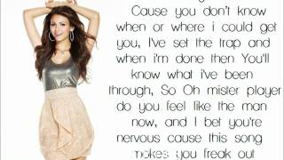 Repeat youtube video Beggin' On Your Knees - Victoria Justice - Lyrics