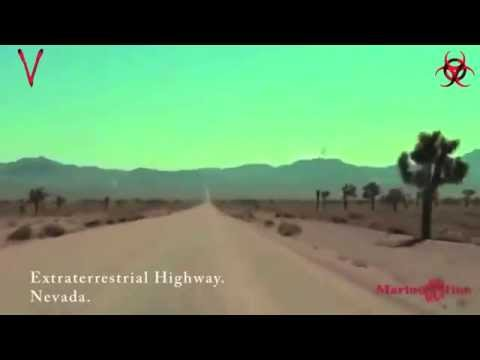 UNKNOWN CREATURE @ EXTRATERRESTRIAL HIGHWAY!