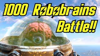 Fallout 4 Battle: 1000 Robobrains of Automatron VS The Brotherhood of Steel