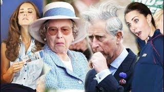 Забавные снимки королевской семьи - Кейт Миддлтон, Елизавета 2, принц Гарри и др
