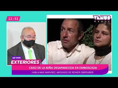Conferencia sobre la niña desaparecida en Emboscada - YouTube