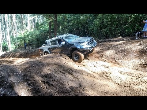 Ford Ranger Off Road Test Series No. 3 | Mud | Rock Crawling & More | 4x4 @ Bunyip State Forest