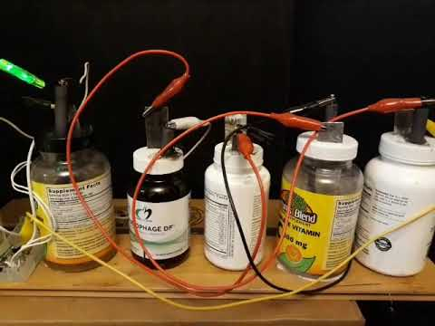 Salt Water Battery Magnesium And Graphite