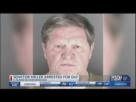Senator Vic Miller arrested for DUI