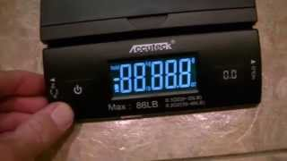 Accuteck 86lb. Digital Postal Scale - For E-Bay and Paypal Shipments with Non-Flat-Rate Mail Parcels