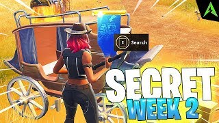 CALEASCA IS * SECRET LOCATION * FOR WEEK 2 IN FORTNITE!