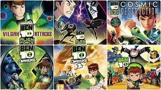 Ben 10 Xbox Evolution (2009-2017)