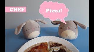 Chef Mallows - Pizza Lunch &amp Dessert  We LOVE Squishmallows