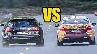 BMW M5 F10 vs Audi RS6 C7 - DRAG RACE!