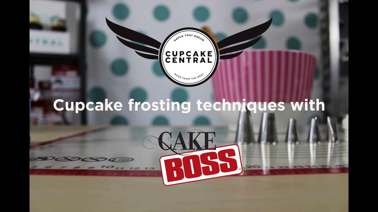 Cake Boss Icing Techniques : Cupcake frosting techniques with Cake Boss - Cupcake ...