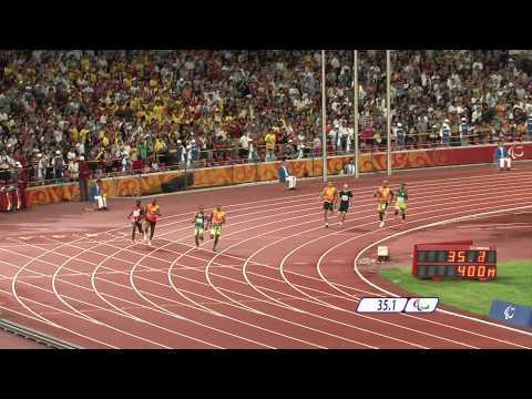 Men's 400m T11 Final - Beijing 2008 Paralympic Games