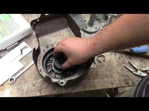 HOW TO Repair A Pull Cord On A Briggs And Stratton Lawnmower