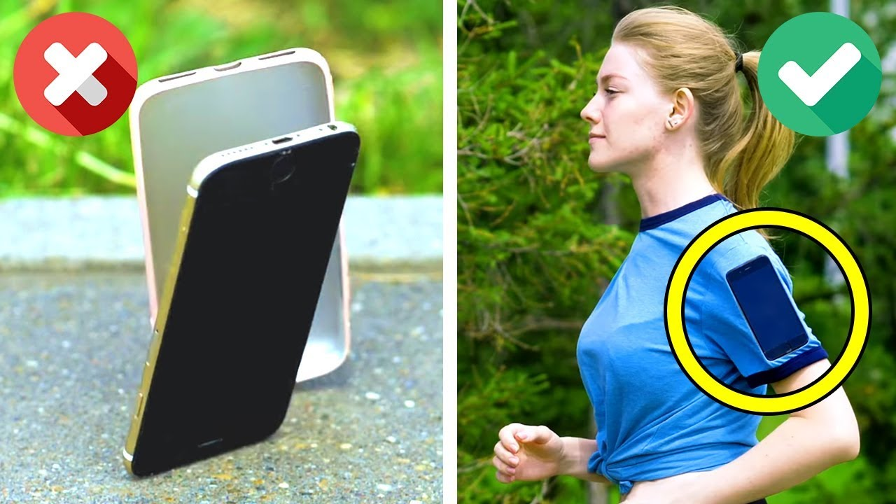 24 LIFE SAVING PHONE HACKS YOU SHOULD TRY
